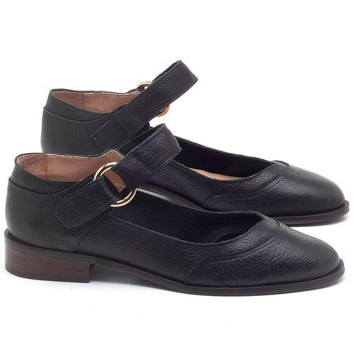 Laranja_Lima_Shoes_Sapatos_Femininos_Oxford_Laranja_Lima_Shoes_Salto_de_2_cm_em_Couro_Preto_-_Codigo_-_9400_1