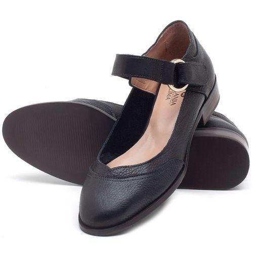 Laranja_Lima_Shoes_Sapatos_Femininos_Oxford_Laranja_Lima_Shoes_Salto_de_2_cm_em_Couro_Preto_-_Codigo_-_9400_2