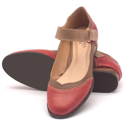 Laranja_Lima_Shoes_Sapatos_Femininos_Oxford_Laranja_Lima_Shoes_Salto_de_2_cm_em_Couro_Bicolor_-_Codigo_-_9400_2