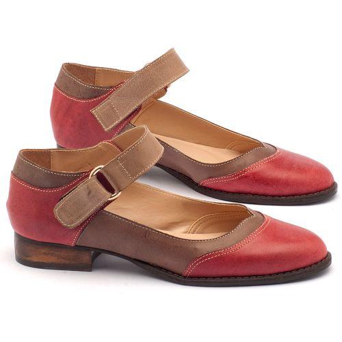 Laranja_Lima_Shoes_Sapatos_Femininos_Oxford_Laranja_Lima_Shoes_Salto_de_2_cm_em_Couro_Bicolor_-_Codigo_-_9400_1