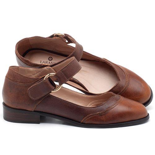 Laranja_Lima_Shoes_Sapatos_Femininos_Oxford_Laranja_Lima_Shoes_Salto_de_2_cm_em_Couro_Marrom_-_Codigo_-_9400_1