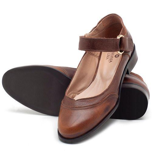 Laranja_Lima_Shoes_Sapatos_Femininos_Oxford_Laranja_Lima_Shoes_Salto_de_2_cm_em_Couro_Marrom_-_Codigo_-_9400_2