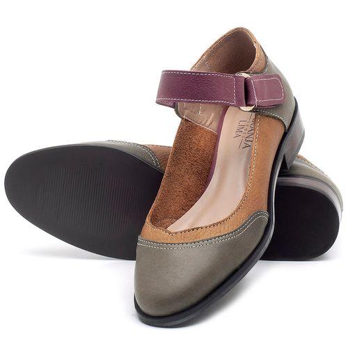 Laranja_Lima_Shoes_Sapatos_Femininos_Oxford_Laranja_Lima_Shoes_Salto_de_2_cm_em_Couro_Multicolor_-_Codigo_-_9400_2