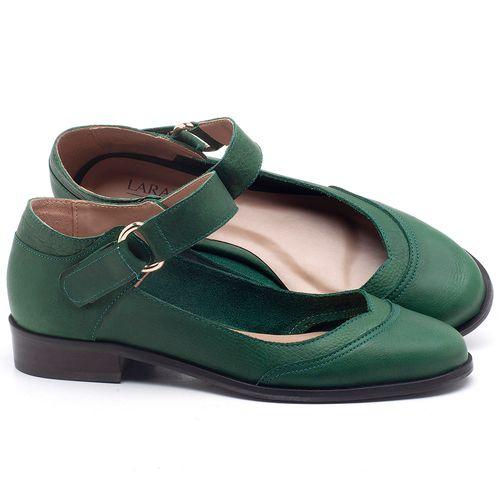 Laranja_Lima_Shoes_Sapatos_Femininos_Oxford_Laranja_Lima_Shoes_Salto_de_2_cm_em_Couro_Verde_-_Codigo_-_9400_1