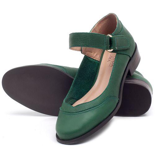 Laranja_Lima_Shoes_Sapatos_Femininos_Oxford_Laranja_Lima_Shoes_Salto_de_2_cm_em_Couro_Verde_-_Codigo_-_9400_2