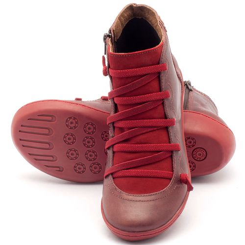 Laranja_Lima_Shoes_Sapatos_Femininos_Tenis_Cano_Alto_em_Couro_Vermelho_-_Codigo_-_139003_2