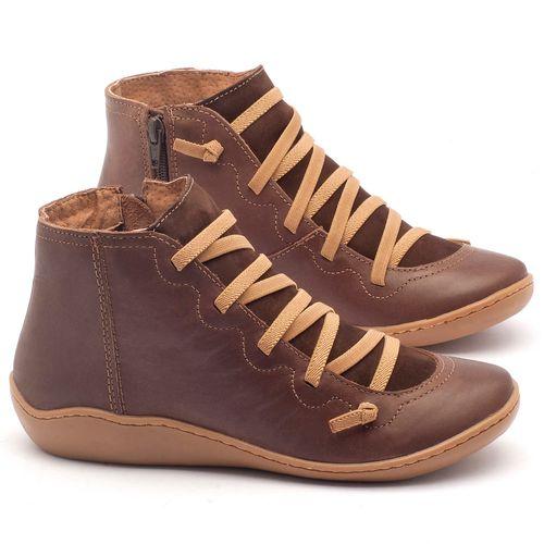 Laranja_Lima_Shoes_Sapatos_Femininos_Tenis_Cano_Alto_em_Couro_Cafe_-_Codigo_-_139003_1