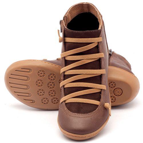 Laranja_Lima_Shoes_Sapatos_Femininos_Tenis_Cano_Alto_em_Couro_Cafe_-_Codigo_-_139003_2