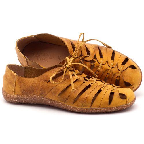 Laranja_Lima_Shoes_Sapatos_Femininos_Tenis_Cano_Baixo_em_Couro_Amarelo_-_Codigo_-_145009_1
