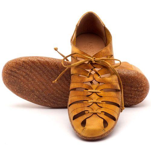 Laranja_Lima_Shoes_Sapatos_Femininos_Tenis_Cano_Baixo_em_Couro_Amarelo_-_Codigo_-_145009_2