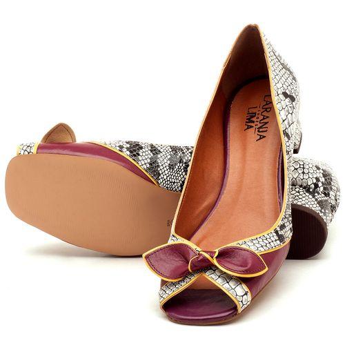 Laranja_Lima_Shoes_Sapatos_Femininos_Peep_Toe_Laranja_Lima_Shoes_Salto_de_4_cm_em_Couro_Cobra_-_Codigo_-_3473_2