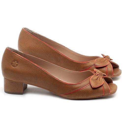Laranja_Lima_Shoes_Sapatos_Femininos_Peep_Toe_Laranja_Lima_Shoes_Salto_de_4_cm_em_Couro_Caramelo_-_Codigo_-_3473_1