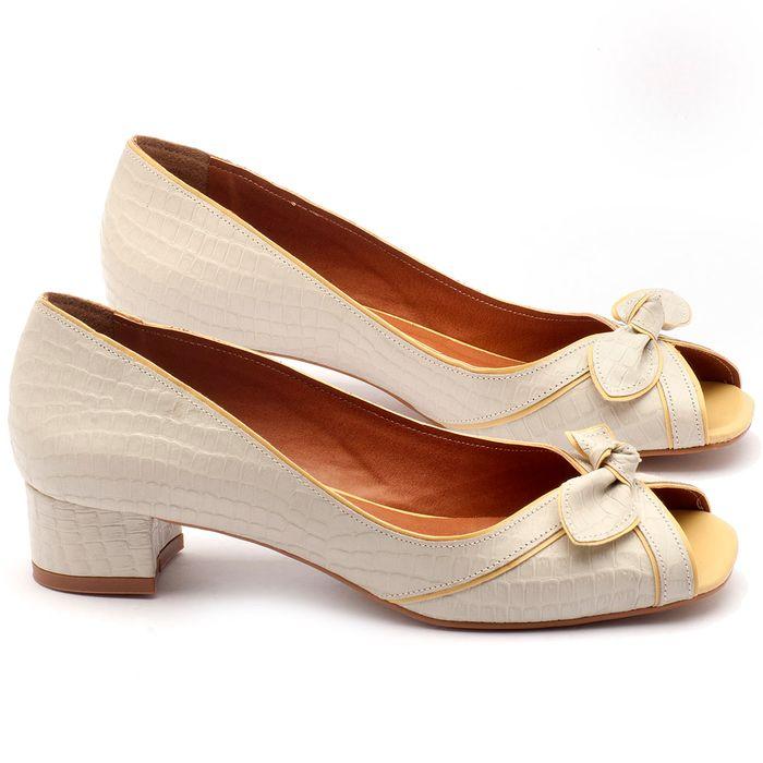 Laranja_Lima_Shoes_Sapatos_Femininos_Peep_Toe_Laranja_Lima_Shoes_Salto_de_4_cm_em_Couro_Branco_-_Codigo_-_3473_1