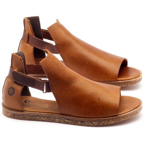 Laranja_Lima_Shoes_Sapatos_Femininos_Sandalia_Rasteira_Flat_em_Couro_Caramelo_-_Codigo_-_141040_1