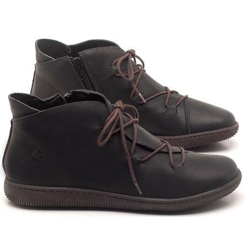 Laranja_Lima_Shoes_Sapatos_Femininos_Tenis_Cano_Alto_em_Couro_Preto_-_Codigo_-_137254_1