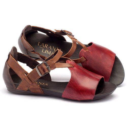 Laranja_Lima_Shoes_Sapatos_Femininos_Sandalia_Rasteira_Flat_em_Couro_Vermelho_-_Codigo_-_137050_1