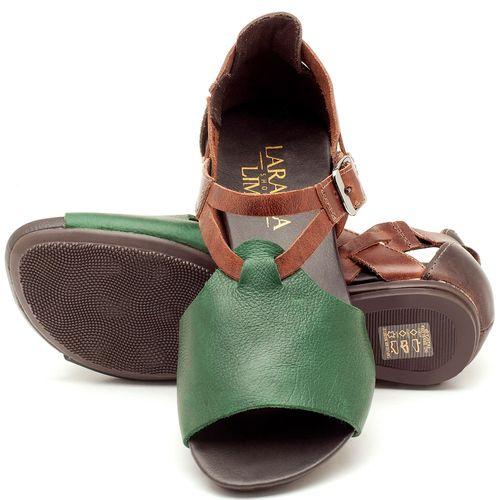 Laranja_Lima_Shoes_Sapatos_Femininos_Sandalia_Rasteira_Flat_em_Couro_Verde_-_Codigo_-_137050_2