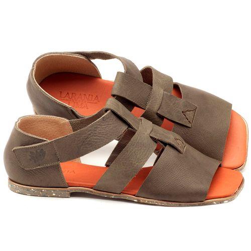 Laranja_Lima_Shoes_Sapatos_Femininos_Sandalia_Rasteira_Flat_em_Couro_Musgo_-_Codigo_-_145029_1