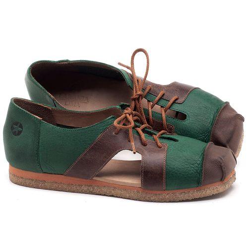 Laranja_Lima_Shoes_Sapatos_Femininos_Sapatilha_Alternativa_em_Couro_Bicolor_-_Codigo_-_3054_1