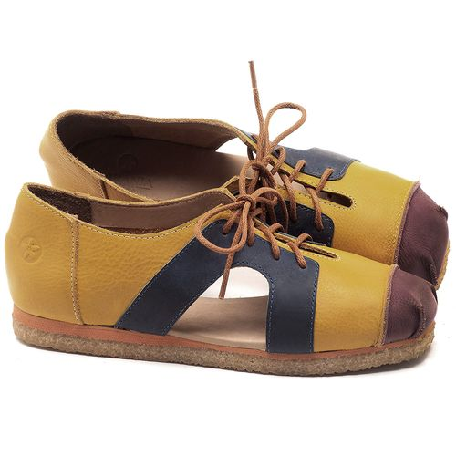 Laranja_Lima_Shoes_Sapatos_Femininos_Sapatilha_Alternativa_em_Couro_Multicolor_-_Codigo_-_3054_1