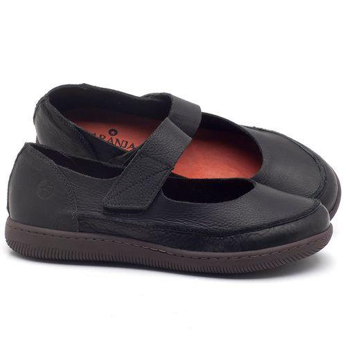 Laranja_Lima_Shoes_Sapatos_Femininos_Flat_Shoes_em_Couro_Preto_-_Codigo_-_137233_1