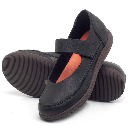 Laranja_Lima_Shoes_Sapatos_Femininos_Flat_Shoes_em_Couro_Preto_-_Codigo_-_137233_2