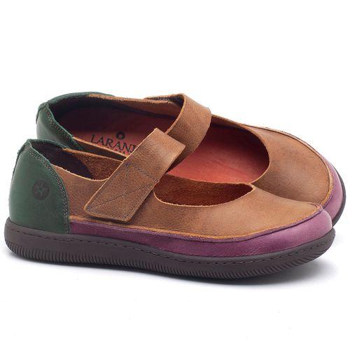 Laranja_Lima_Shoes_Sapatos_Femininos_Flat_Shoes_em_Couro_Marrom_-_Codigo_-_137233_1