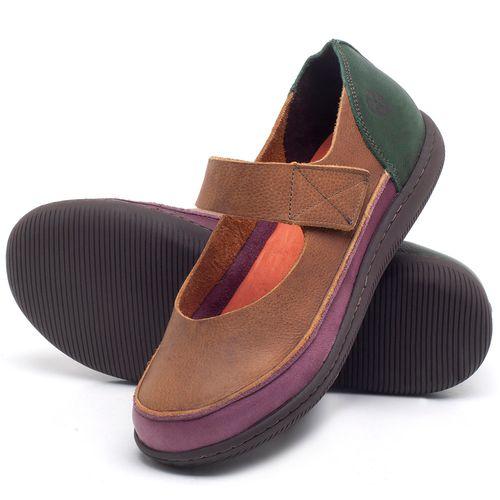 Laranja_Lima_Shoes_Sapatos_Femininos_Flat_Shoes_em_Couro_Marrom_-_Codigo_-_137233_2