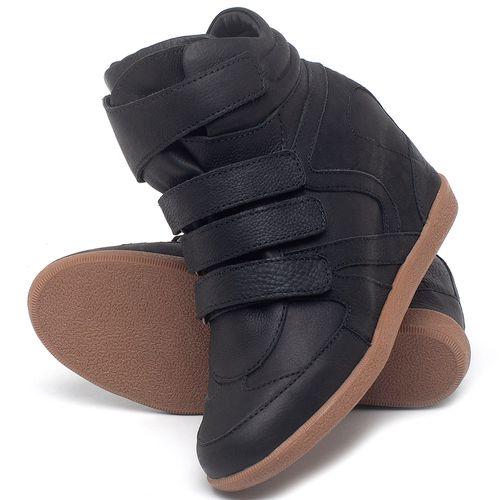 Laranja_Lima_Shoes_Sapatos_Femininos_Tenis_Cano_Alto_Salto_de_7_cm_em_Couro_Preto_-_Codigo_-_56202_2
