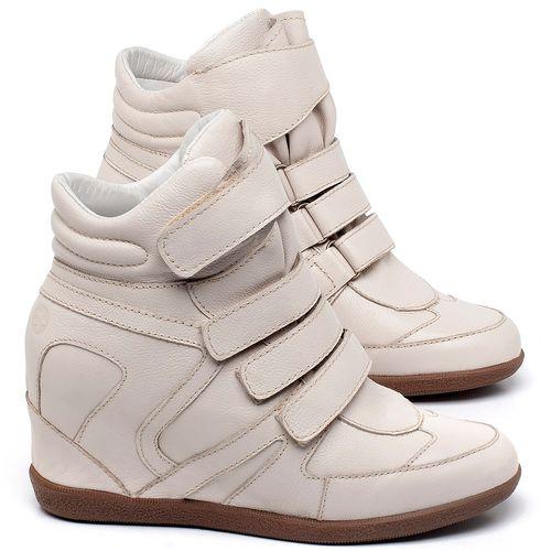 Laranja_Lima_Shoes_Sapatos_Femininos_Tenis_Cano_Alto_Salto_de_7_cm_em_Couro_Off-White_-_Codigo_-_56202_1