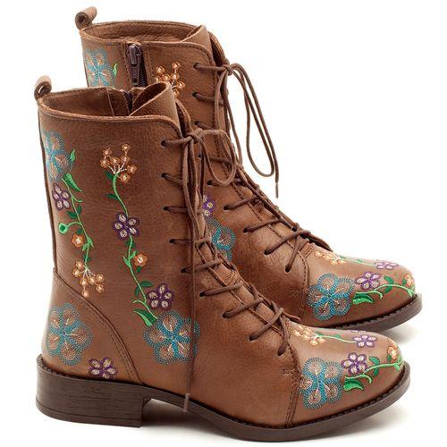 Laranja_Lima_Shoes_Sapatos_Femininos_Bota_Cano_Curto_Salto_de_2_cm_em_Couro_Cafe_-_Codigo_-_141070_1