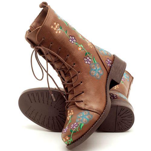 Laranja_Lima_Shoes_Sapatos_Femininos_Bota_Cano_Curto_Salto_de_2_cm_em_Couro_Cafe_-_Codigo_-_141070_2