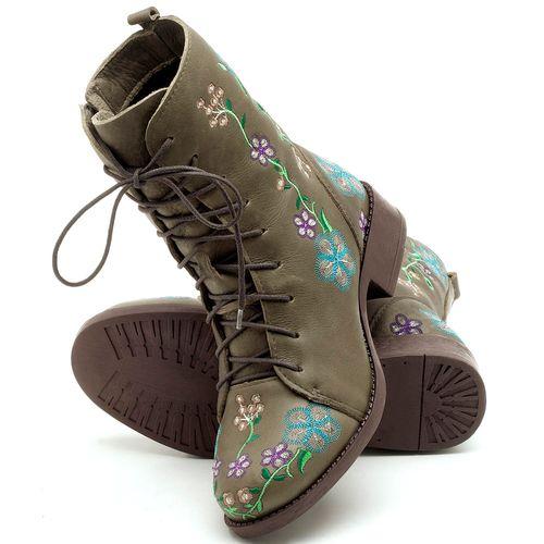 Laranja_Lima_Shoes_Sapatos_Femininos_Bota_Cano_Curto_Salto_de_2_cm_em_Couro_Verde_-_Codigo_-_141070_2