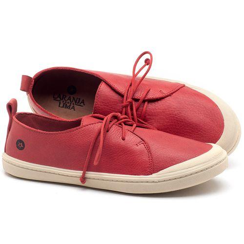 Laranja_Lima_Shoes_Sapatos_Femininos_Tenis_Cano_Baixo_em_Couro_Vermelho_-_Codigo_-_141076_1