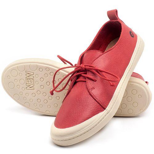 Laranja_Lima_Shoes_Sapatos_Femininos_Tenis_Cano_Baixo_em_Couro_Vermelho_-_Codigo_-_141076_2