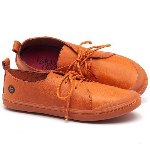 Laranja_Lima_Shoes_Sapatos_Femininos_Tenis_Cano_Baixo_em_Couro_Laranja_-_Codigo_-_141076_1
