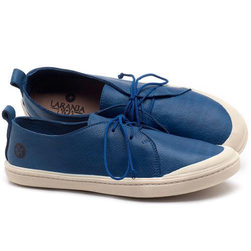 Laranja_Lima_Shoes_Sapatos_Femininos_Tenis_Cano_Baixo_em_Couro_Azul_-_Codigo_-_141076_1