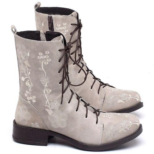 Laranja_Lima_Shoes_Sapatos_Femininos_Bota_Cano_Curto_Salto_de_2_cm_em_Couro_Off-White_-_Codigo_-_141084_1