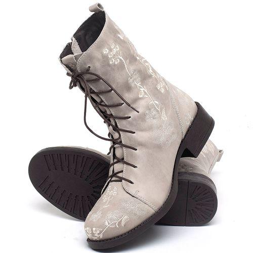 Laranja_Lima_Shoes_Sapatos_Femininos_Bota_Cano_Curto_Salto_de_2_cm_em_Couro_Off-White_-_Codigo_-_141084_2