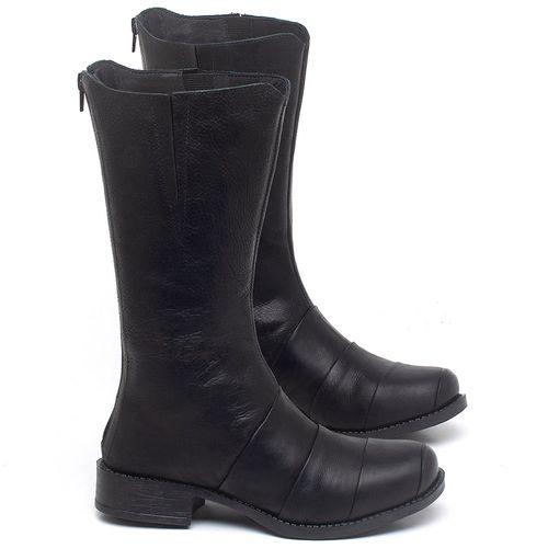 Laranja_Lima_Shoes_Sapatos_Femininos_Bota_Cano_Medio_Salto_de_3_cm_em_Couro_Preto_-_Codigo_-_141138_1