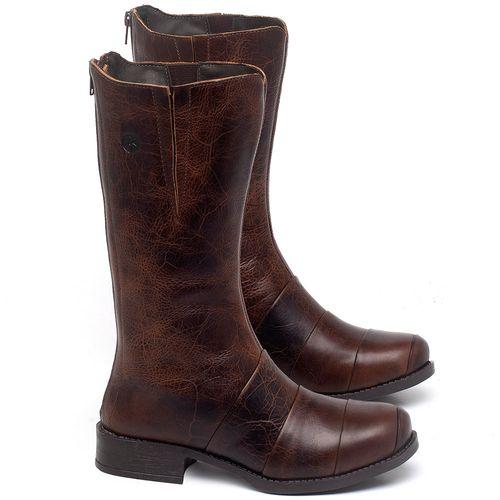 Laranja_Lima_Shoes_Sapatos_Femininos_Bota_Cano_Medio_Salto_de_3_cm_em_Couro_Marrom_-_Codigo_-_141138_1