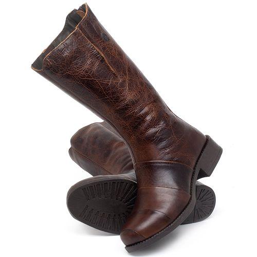 Laranja_Lima_Shoes_Sapatos_Femininos_Bota_Cano_Medio_Salto_de_3_cm_em_Couro_Marrom_-_Codigo_-_141138_2