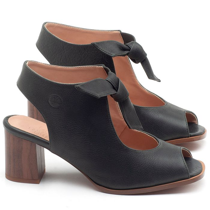 Laranja_Lima_Shoes_Sapatos_Femininos_Sandalia_Laranja_Lima_Shoes_Classic_Salto_de_6_cm_em_Couro_Preto_-_Codigo_-_3688_1