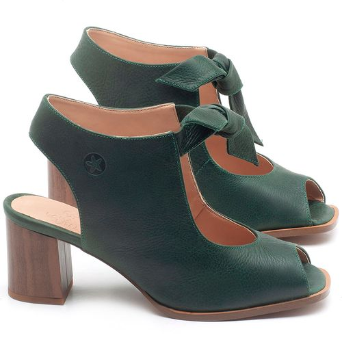 Laranja_Lima_Shoes_Sapatos_Femininos_Sandalia_Laranja_Lima_Shoes_Classic_Salto_de_6_cm_em_Couro_Verde_-_Codigo_-_3688_1