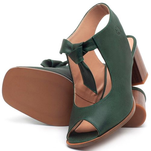 Laranja_Lima_Shoes_Sapatos_Femininos_Sandalia_Laranja_Lima_Shoes_Classic_Salto_de_6_cm_em_Couro_Verde_-_Codigo_-_3688_2