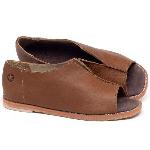 Laranja_Lima_Shoes_Sapatos_Femininos_Sandalia_Rasteira_Flat_em_Couro_Caramelo_-_Codigo_-_3719_1
