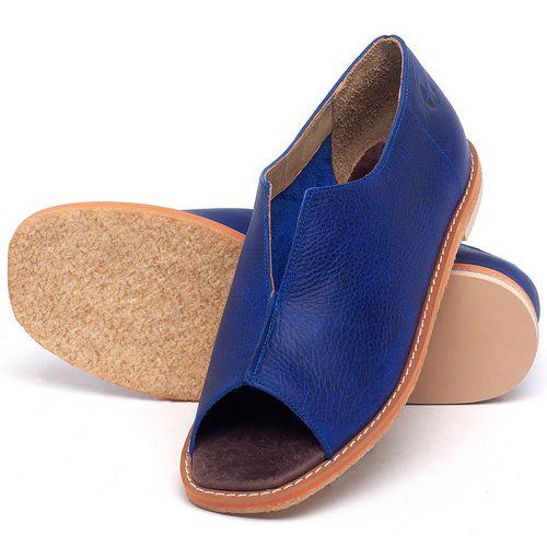 Laranja_Lima_Shoes_Sapatos_Femininos_Sandalia_Rasteira_Flat_em_Couro_Azul_-_Codigo_-_3719_2