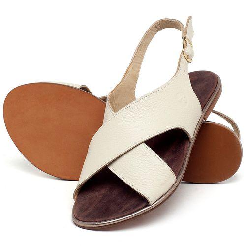 Laranja_Lima_Shoes_Sapatos_Femininos_Sandalia_Rasteira_Flat_em_Couro_Off-White_-_Codigo_-_3728_2