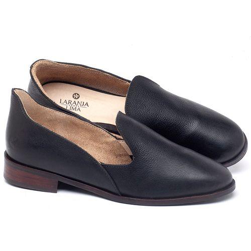 Laranja_Lima_Shoes_Sapatos_Femininos_Sapatilha_Bico_Fino_Salto_de_25_cm_em_Couro_Preto_-_Codigo_-_9467_1