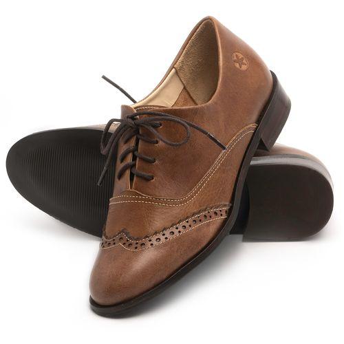 Laranja_Lima_Shoes_Sapatos_Femininos_Oxford_Laranja_Lima_Shoes_Salto_de_2_cm_em_Couro_Marrom_-_Codigo_-_9468_2